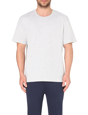 HUGO BOSS Logo-detail cotton-jersey t-shirt