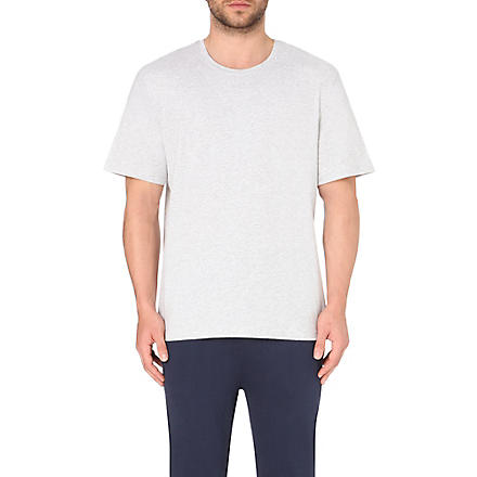 HUGO BOSS Cotton t-shirt (Light+grey