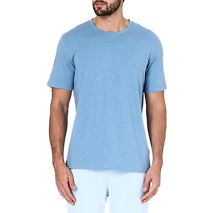 HUGO BOSS Logo t–shirt (Sky+blue