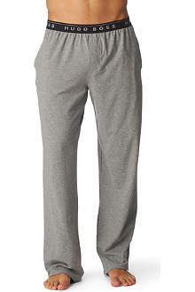 HUGO BOSS Stretch–cotton pyjama bottoms