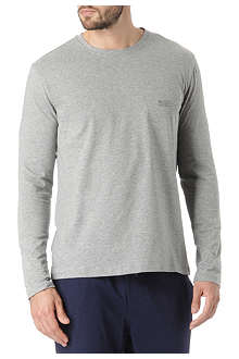HUGO BOSS Long-sleeved logo t-shirt
