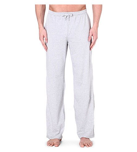 HUGO BOSS Logo drawstring trousers (Grey