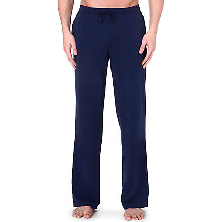 HUGO BOSS Logo drawstring trousers (Navy