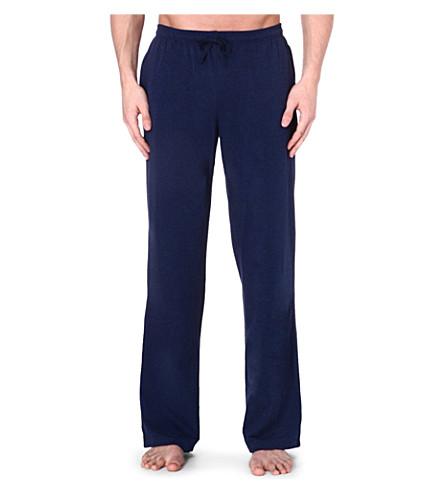 HUGO BOSS Logo drawstring trousers (Navy