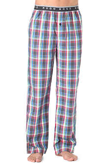 HUGO BOSS Checked pyjama bottoms