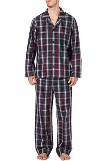 HUGO BOSS Checked pyjama set