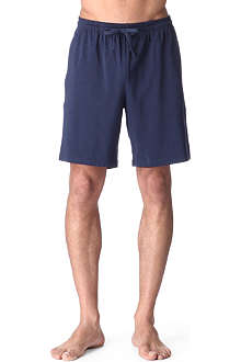 HUGO BOSS Stretch-jersey lounge shorts
