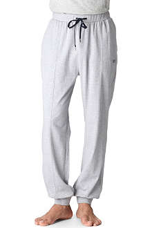 HUGO BOSS Cotton jogging bottoms