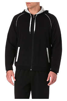 HUGO BOSS Logo zip-up hoody
