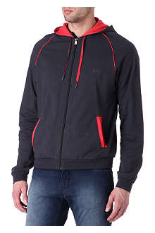 HUGO BOSS Contrast-trim hoody