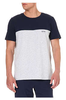 HUGO BOSS Panelled t-shirt