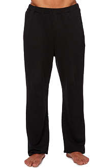 HUGO BOSS Plain sweatpant trousers