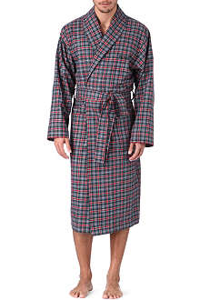 HUGO BOSS Checked robe
