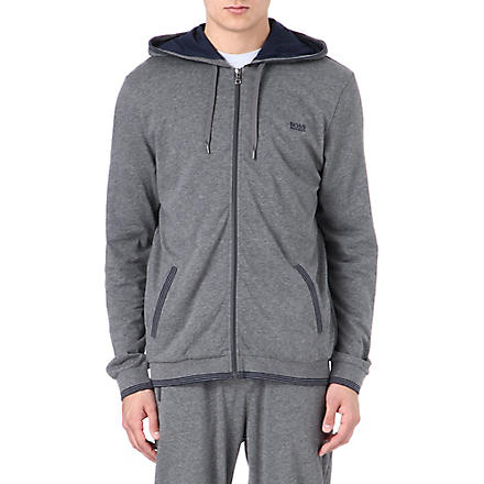 HUGO BOSS Logo hoody (Grey