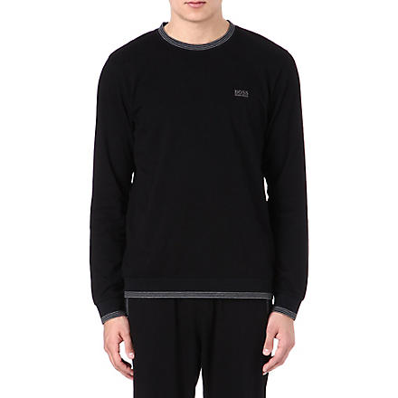 HUGO BOSS Logo sweatshirt (Black