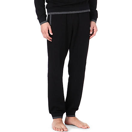 HUGO BOSS Logo jogging bottoms (Black