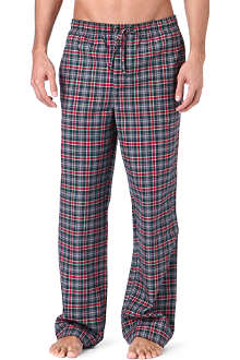 HUGO BOSS Checked pyjama trousers