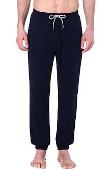 HUGO BOSS Plain cuffed sweat pants