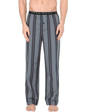 HUGO BOSS Striped woven-cotton pyjama bottoms