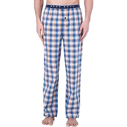 HUGO BOSS Checked pyjama bottoms (Multi