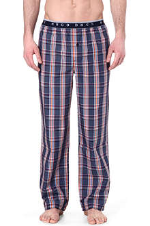 HUGO BOSS Bold check cotton pyjama trousers