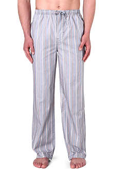 HUGO BOSS Striped woven pyjama trousers
