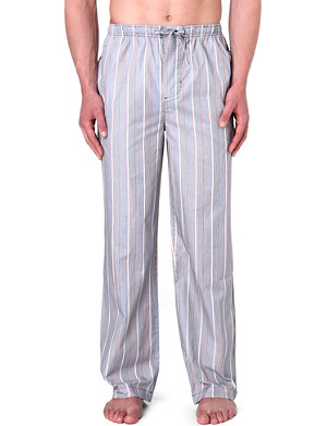 HUGO BOSS Striped woven pyjama trousers