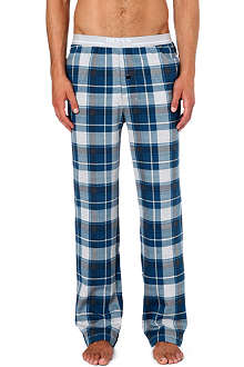 HUGO BOSS Check pyjama trousers