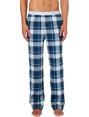 HUGO BOSS Check pyjama trousers
