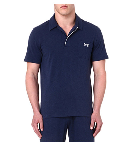 HUGO BOSS Logo polo shirt (Navy