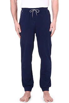 HUGO BOSS Contrast-trim cuffed jogging bottoms