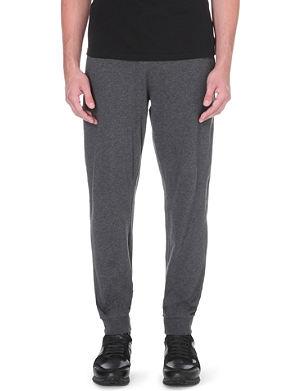 HUGO BOSS Contrast waistband cuffed sweatpants