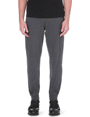 HUGO BOSS Contrast waistband cuffed sweatpants