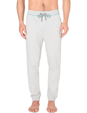 HUGO BOSS Cotton-jersey jogging bottoms