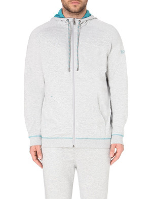 HUGO BOSS Contrast cotton hoody