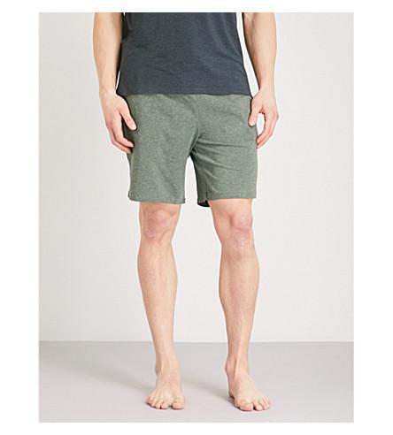 BOSS Mix & match stretch-cotton shorts (Khaki