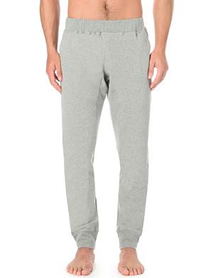 ZIMMERLI Cuffed cotton-blend sweat pants