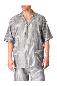 ZIMMERLI Striped short pyjamas