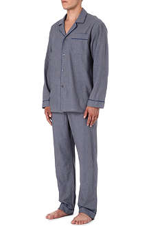ZIMMERLI Dogtooth check pyjamas