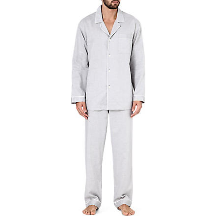 ZIMMERLI Patterned pyjama set (Grey
