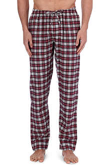 ZIMMERLI Plaid flannel pyjama trousers