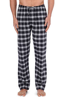 ZIMMERLI Plaid cotton pyjama trousers