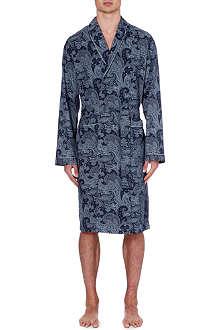 ZIMMERLI Paisley-print robe