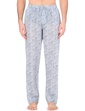 ZIMMERLI Paisley-print cotton pyjama bottoms
