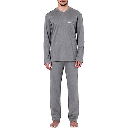 ZIMMERLI Cotton pyjama set (Grey