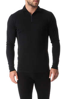 SUNSPEL Q10 wool zip-neck top