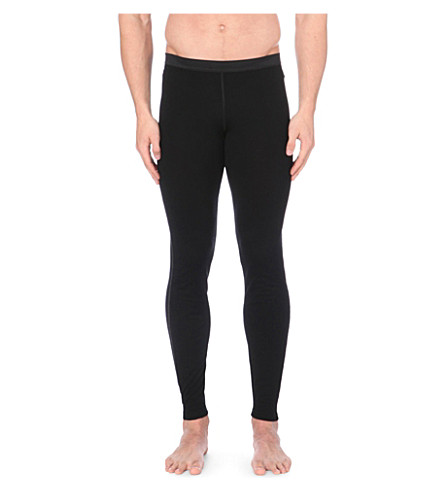 SUNSPEL Q10 wool leggings (Black