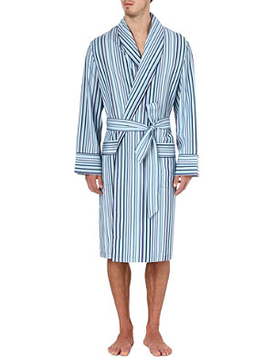 PAUL SMITH Multi-stripe dressing gown
