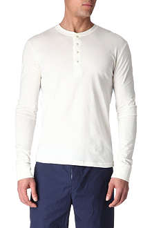 PAUL SMITH Henley long-sleeved top
