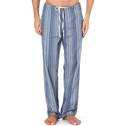 PAUL SMITH Multi-striped pyjama bottoms (Blue+stripe